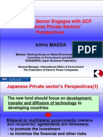 How Private Sector Engages With GCF - Ichiro MAEDA
