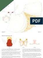 Anjos 3D para Montar