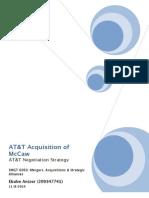 AT&T Negotiation