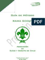 Guía de Metodo - Rama Scout