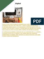 Miliohmímetro Digital