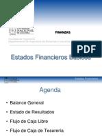 1. Estados financieros