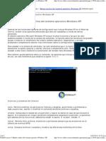 Menús ocultos del sistema operativo Windows XP