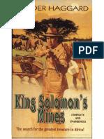 King Solomon's Mines 01 - H. Rider Haggard