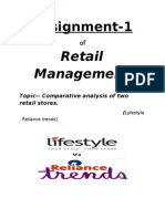 Assignment 1 of Retail by Piyush
