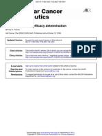 Tumor Models for Efficacy Determination