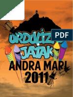 Urdulizko jaiak 2011