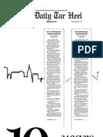 The Daily Tar Heel for September 9, 2011