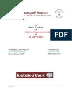 Credit+Appraisal+Process+at+ING+Vysya+Bank