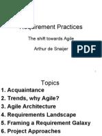 081007- Requirement Practises - Agile