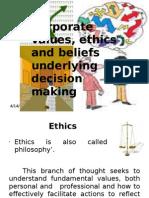 Ethics Presentation Sel