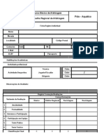 Ficha de Inscrição e Avalição