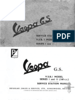 Vespa-GS Service Manual