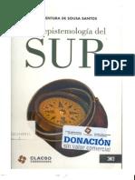 Santos Boaventura de Sousa-Una epistemología del sur