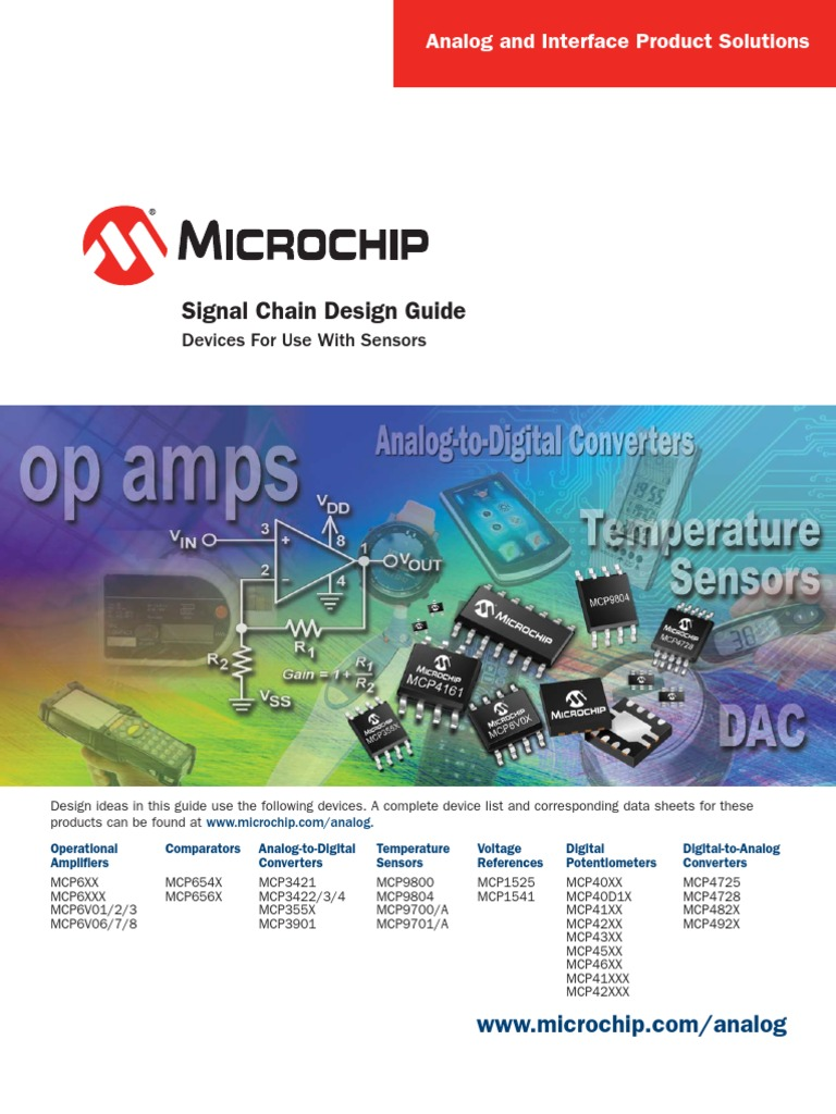 21825f Analog To Digital Converter Amplifier How Build A Potentiometer Circuit Using Mcp4131
