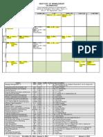 Time Table PGDM II_Term V