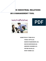 Project on Industrial Relations