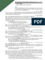 Bài tập tự luận Động học chất điểm lớp 10 có hướng dẫn