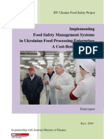 Report on HACCP