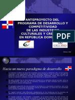 Presentación AnteProyecto ICC RD
