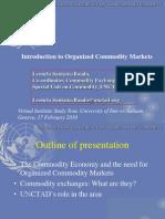 Organised commodity markets SLBoado