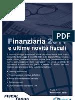 FINANZIARIA 20111