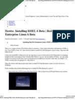 Installing Red Hat Enterprise Linux ( RHEL 6.2 ) Beta