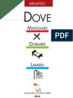 Guida Dove Milano 2010