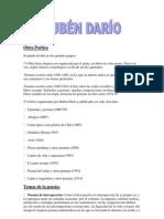 Obra Poética de Rubén Darío
