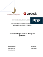 Documentary Credits in theory and practice