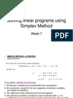 Solving Linear Programs Using Simplex Method-7