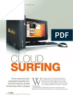 Innovations from India-Cloud Surfing