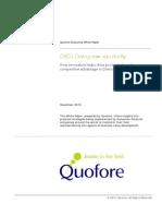 0213-L-1210-1 Quofore DSD3 White Paper