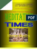 Meditation Times September 2011