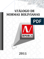 Catálogo Ibnorca para exportación
