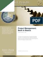 Project Mgmt Basics