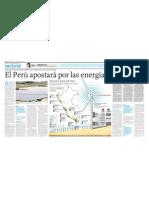 El Perú apostará por las energías renovables