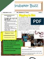 4th Grade Newsletter 9911
