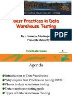 Best Practices in Data Warehouse Testing GOOD