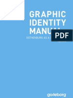 Graphic identity manual - Destination Göteborg
