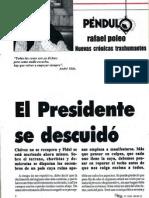 Rafael Poleo - El Presidente se Descuidó - Zeta