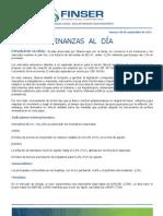 Finanzas al Día - 09.09.11