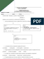 DIAGNOSTICO ESPAÑOL III