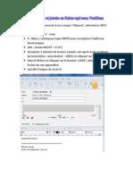 Enregistrer et joindre un fichier MP3 avec FirstClass