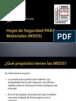 Expo Sic Ion Hojas de Seguridad PARA Materiales (MSDS)