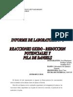 Informe nº 3 Quimica
