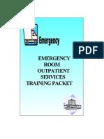 ER Billing Training - An Old Manual