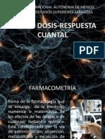 6 Curvas Dosis-efecto Cuantal