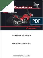 Admin Uploads Manuales Manual-HONDA-CB-150-Invicta 1306860646