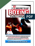 Seven Secrets Boxing Footwork